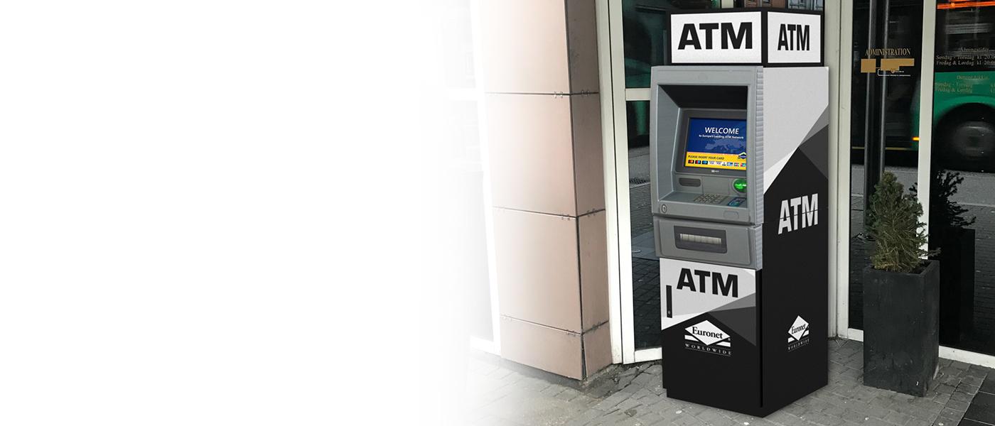 Tilbyd dine kunder en ekstra god service med en Euronet hæveautomat.
